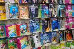books barn s Fotografering för Bildbyråer