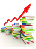 Books bindings and Literature Stock Photo