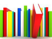 Books bindings and Literature. Picture pages,  Books bindings and Literature Stock Photo