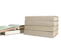 Books With Blank Spines Royalty Free Stock Photos