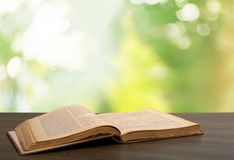 Books. Book novel desk hop reading concept Stock Photo