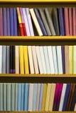 Books in bookcase Stock Photo