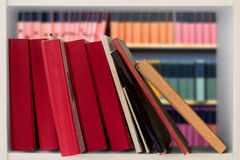 Books in bookcase Royalty Free Stock Image