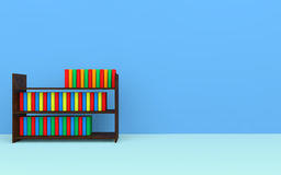 Books on a bookshelf Royalty Free Stock Photography