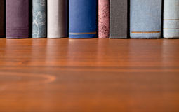 Books in the bookshelf Royalty Free Stock Image