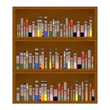 Books are on the Bookshelf Royalty Free Stock Photos