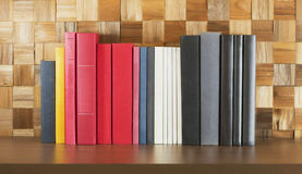 Books on bookshelf Royalty Free Stock Image