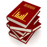 Books of BUSINESS Stock Image