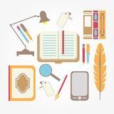 Books card Stock Photo