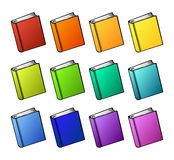 Books cartoon Royalty Free Stock Photography