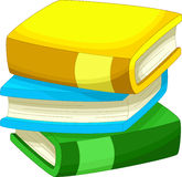 Books cartoon Stock Photo