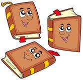 books cartoon positions various Стоковая Фотография