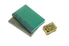 Books and casket Stock Photography