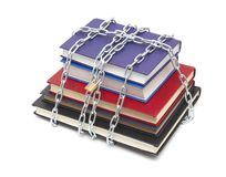 Books chained