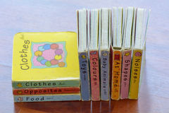 The books for children The books for children Stock Photography