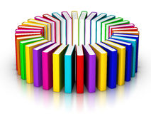 Books Circle Royalty Free Stock Photo