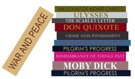 books classicen Arkivfoton