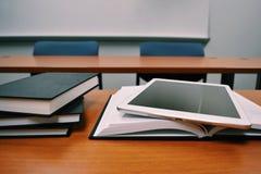 Books, Classroom, Close-up royalty free stock photo