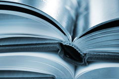 Books closeup Stock Photos