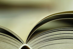 Books closeup Royalty Free Stock Photography