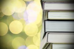 Books closeup Stock Image