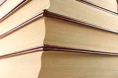 books closeupen Arkivfoto