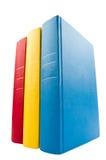 books closeupen sköt bunten Royaltyfri Foto