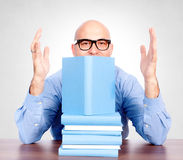 Books cluttered Stock Photos