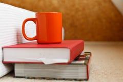 Books coffee Royalty Free Stock Photo