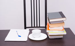 Books and coffee Royalty Free Stock Photography