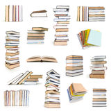 Books collection Royalty Free Stock Image