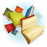 Books Collection Background Royalty Free Stock Image
