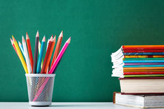 Books and copybooks Royalty Free Stock Photos