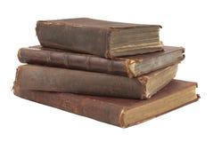 books den gammala stapeln Arkivbild