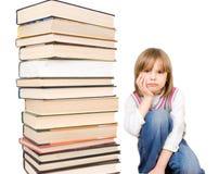 books den SAD bunten för barnet Royaltyfria Bilder