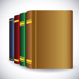Books design. Royalty Free Stock Image