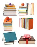 Books and diploma Royalty Free Stock Photos