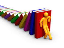 Books - Domino Royalty Free Stock Images