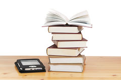 Books and e-book Royalty Free Stock Images