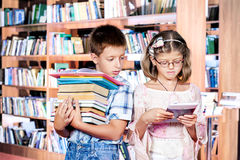Books and e-reader Stock Image