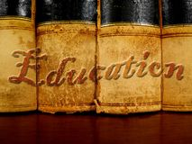 Books of Education Royalty Free Stock Photos