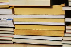 Books, education concept, background Royalty Free Stock Photo