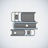 books education line icon Royalty Free Stock Photography