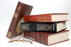 books exponeringsglas Arkivbilder