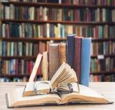 books exponeringsglas Arkivfoton