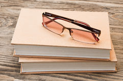 books exponeringsglas två Royaltyfri Foto