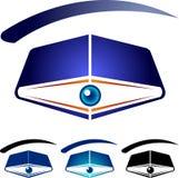 Books eye royalty free illustration