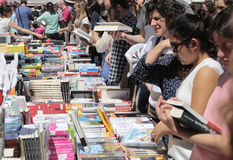 Books fair in mallorca 017 Stock Photo