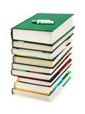 Books and flash memory Royalty Free Stock Image