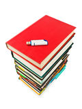 Books and flash memory Stock Image